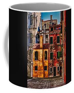 Venice Homes Coffee Mug by Jerry Fornarotto