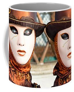 Venice Masks - Carnival. Coffee Mug by Luciano Mortula