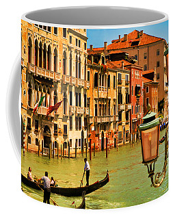 Venice Street Lamp Coffee Mug