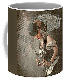 Coffee Mug featuring the digital art Vent by Galen Valle