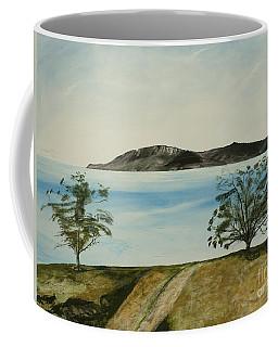 Ventura's Two Trees With Santa Cruz  Coffee Mug