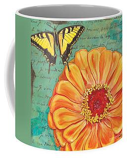 Verdigris Floral 1 Coffee Mug