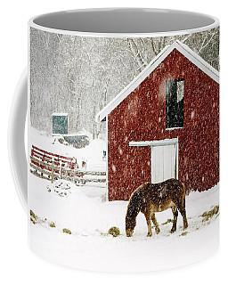 Vermont Christmas Eve Snowstorm Coffee Mug
