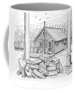 Vermont Hunter Lodge Coffee Mug