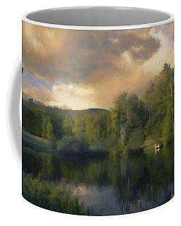 Vermont Morning Reflection Coffee Mug by Jeff Kolker