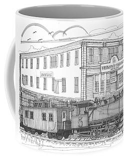Vermont Salvage And Train Coffee Mug