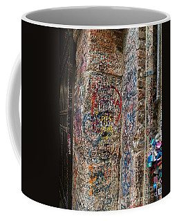 Verona Italy Locks Of Love Coffee Mug by Robin Maria Pedrero