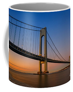 Verrazano Bridge Sunrise  Coffee Mug