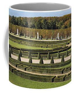 Coffee Mug featuring the photograph Versailles Gardens by Glenn DiPaola