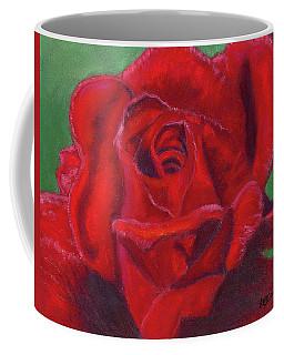 Very Red Rose Coffee Mug