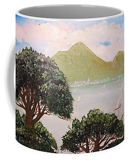 Vesuvius And Umbrella Pine Tree II Coffee Mug