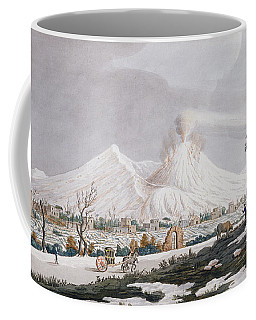 Vesuvius In Snow, Plate V From Campi Coffee Mug