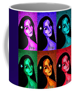 Coffee Mug featuring the painting Veterana Colors by Michelle Dallocchio