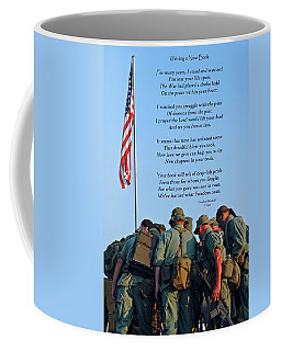 Coffee Mug featuring the photograph Veterans Remember by Carolyn Marshall