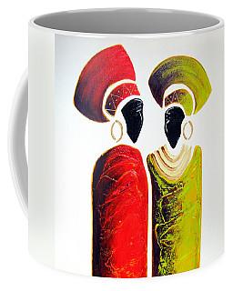 Vibrant Zulu Ladies - Original Artwork Coffee Mug