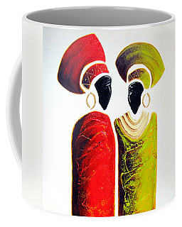 Vibrant Zulu Ladies - Original Artwork Coffee Mug