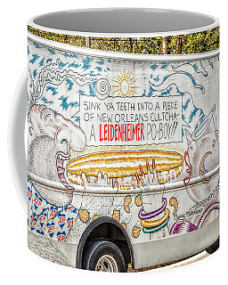 Vic And Nat'ly And The Leidenheimer Po-boy Truck - New Orleans Coffee Mug