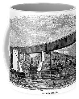 Victoria Bridge - Quebec - 1878 Coffee Mug