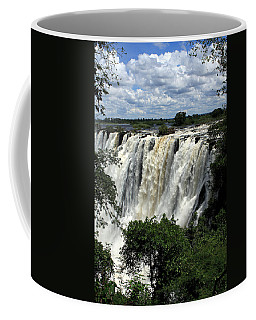 Victoria Falls On The Zambezi River Coffee Mug