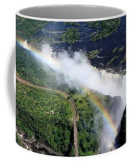 Rainbow Over Victoria Falls  Coffee Mug