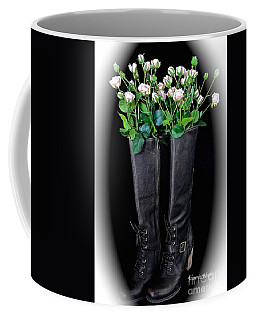 Victorian Black Boots Coffee Mug
