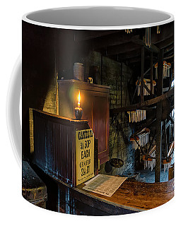 Coffee Mug featuring the photograph Victorian Candle Factory by Adrian Evans
