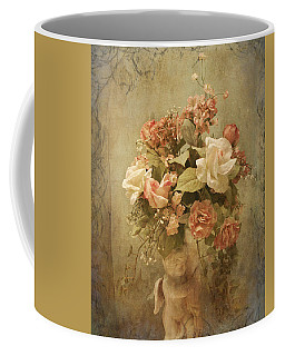 Victorian Rose Floral Coffee Mug by TnBackroadsPhotos