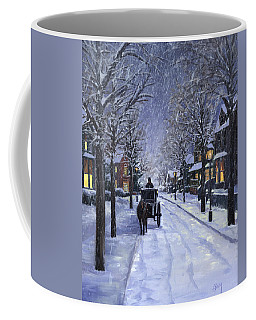 Victorian Snow Coffee Mug