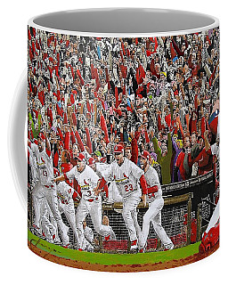 Victory - St Louis Cardinals Win The World Series Title - Friday Oct 28th 2011 Coffee Mug