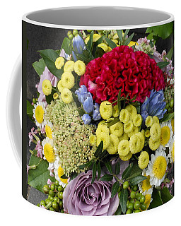 Vienna Bouquet Coffee Mug by Kay Gilley