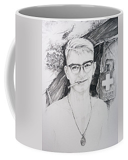 Vietnam Medic Coffee Mug by Scott and Dixie Wiley