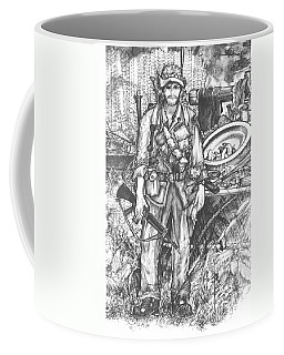 Vietnam Soldier Coffee Mug by Scott and Dixie Wiley