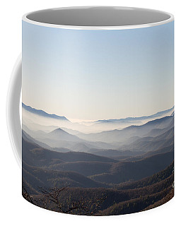 View From Blood Mountain Coffee Mug by Paul Rebmann