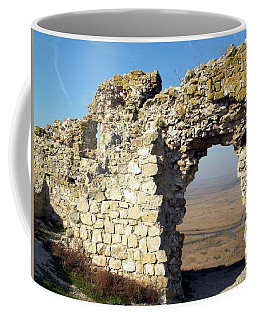 View From Enisala Fortress 2 Coffee Mug
