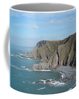 Higher Sharpnose Point Coffee Mug by Richard Brookes