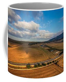 View From Hot Air Balloon Coffee Mug