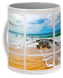 View From My Beach House Window Coffee Mug
