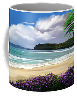 View From My Villa Coffee Mug by Anthony Fishburne