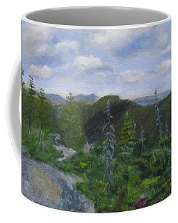 View From Noon Peak Coffee Mug