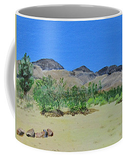 View From Sharon's House - Mojave Coffee Mug