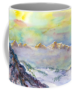 View From Snowbird Coffee Mug