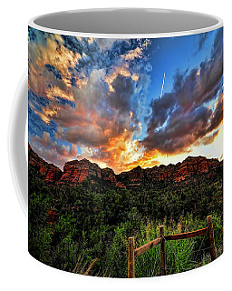 View From The Fence  Coffee Mug