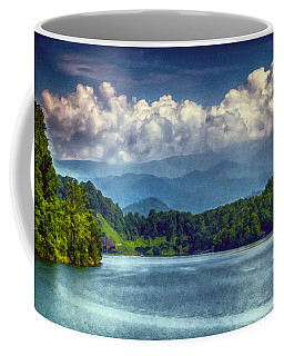 View From The Great Smoky Mountains Railroad Coffee Mug