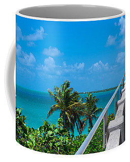 View From The Old Bahia Honda Bridge Coffee Mug by John M Bailey