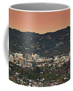View Of Buildings In City, Beverly Coffee Mug