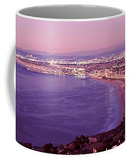 View Of Los Angeles Downtown Coffee Mug