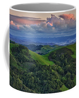 Coffee Mug featuring the photograph View Of Morro Bay by Beth Sargent