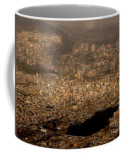 Coffee Mug featuring the photograph View Of Quito From The Teleferiqo by Eleanor Abramson