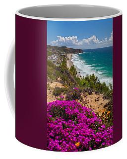 View Of Strand Beach And Dana Point Headland Coffee Mug