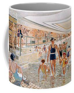 View Of The First Class Swimming Pool Coffee Mug